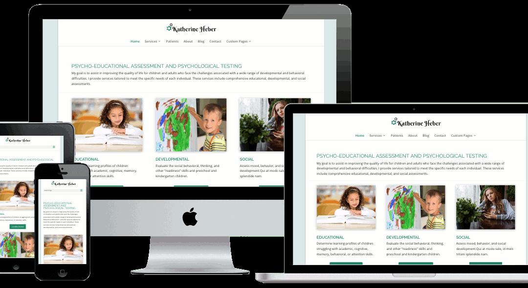 Thrive Website Template