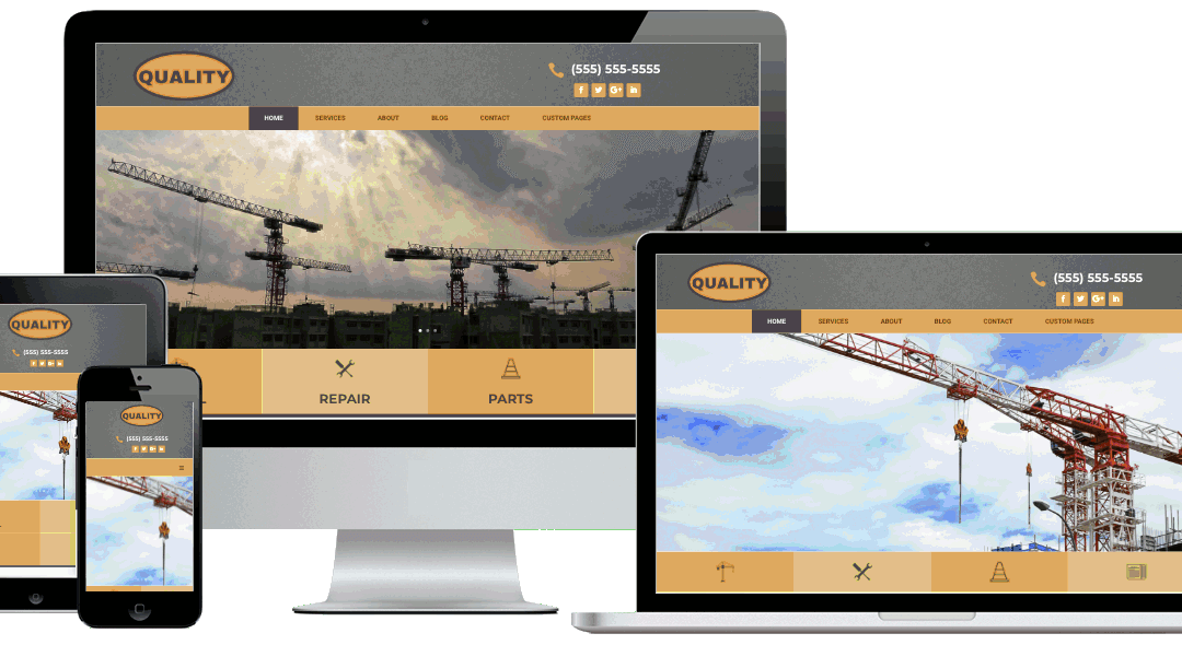 Quality Website Template