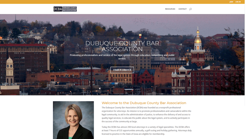 Dubuque County Bar Association Website