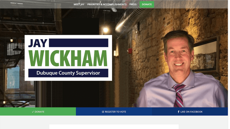 Jay Wickham Website
