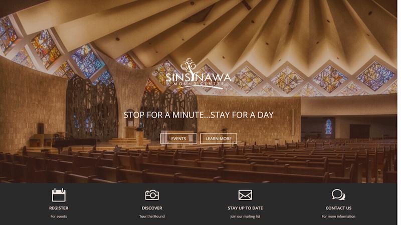 Sinsinawa Mound Center Website