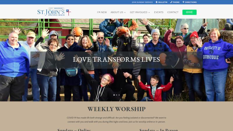 St Johns Episcopal Church Website
