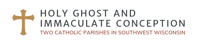Holy Ghost and Immaculate Conception Logo